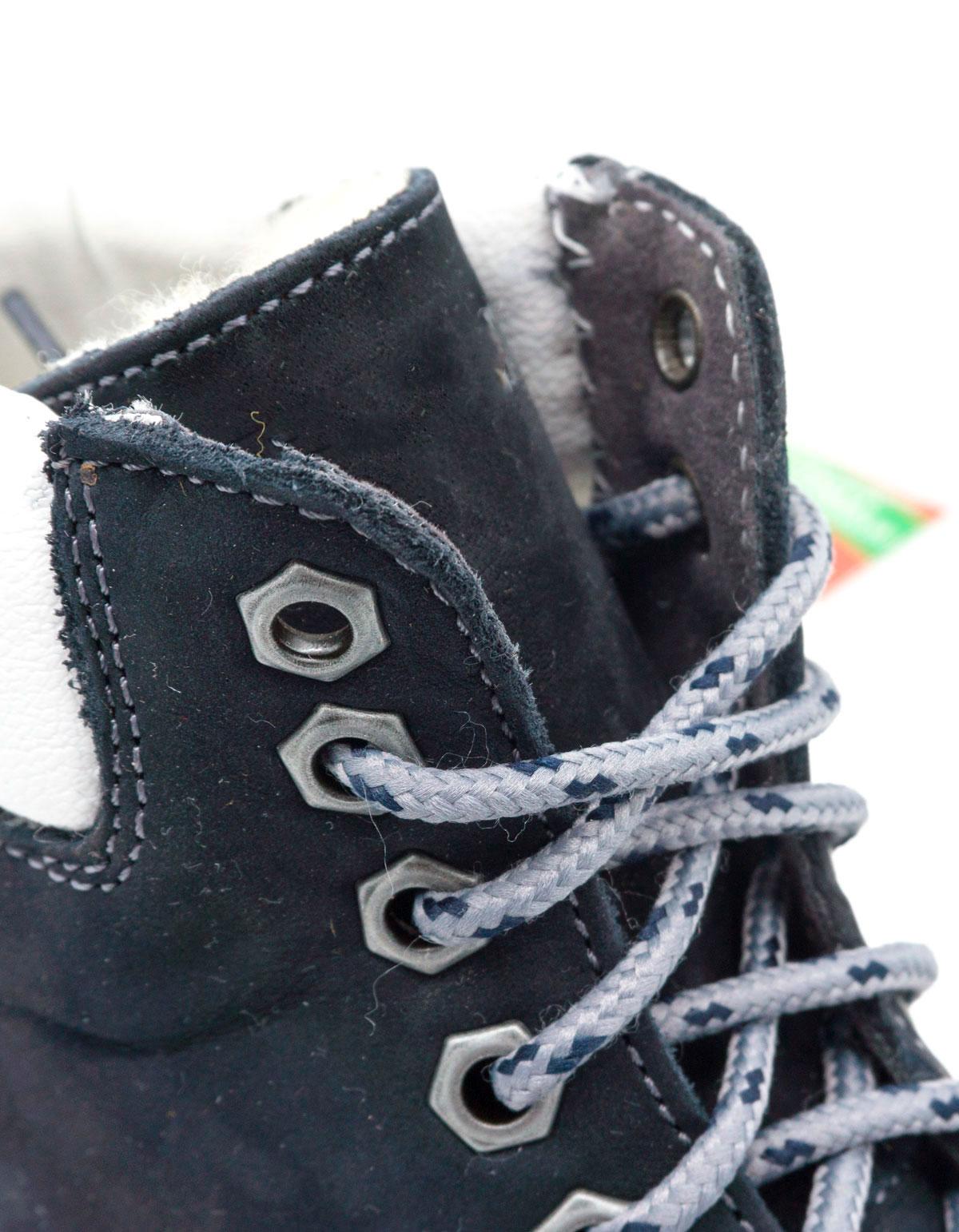 большое фото №5 Синие ботинки Tim-and 102 (сделано в Украине)