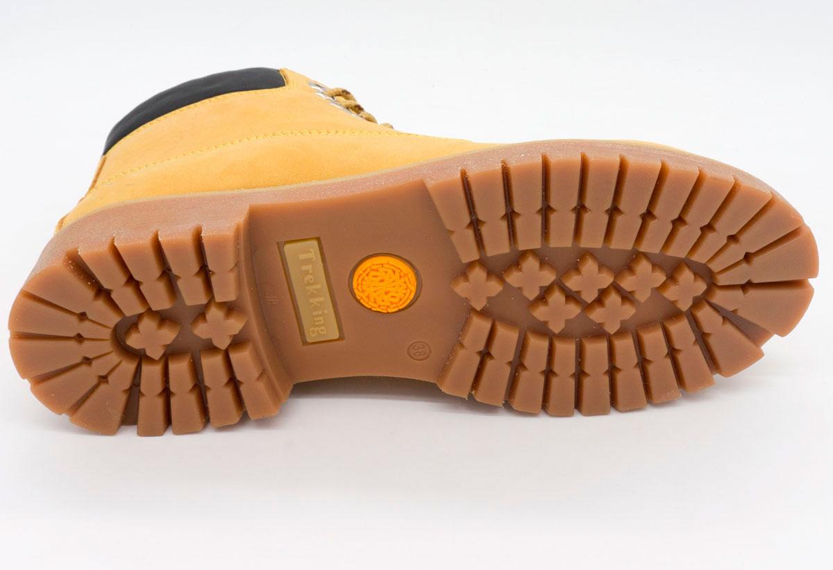 большое фото №5 Желтые женские ботинки Реплика Timberland 102 (сделано в Украине)
