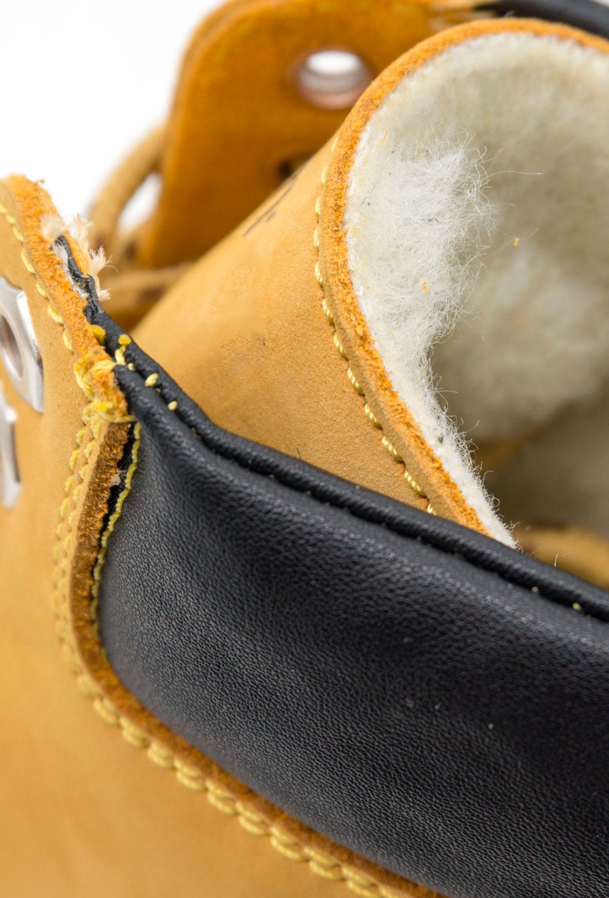 большое фото №6 Желтые женские ботинки Tim-and 102 (сделано в Украине)