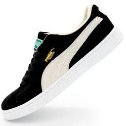 Кроссовки Puma Suede Пума Суеде черные, натуральная замша,  Топ качество!