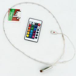 фото Комплект светодиодной ленты для светящихся led кроссовок под пульт