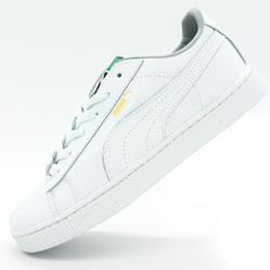 Женские кроссовки Puma Suede classic белые
