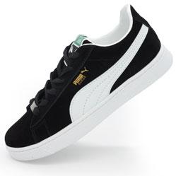 Кроссовки Puma Suede classic черные Vietnam
