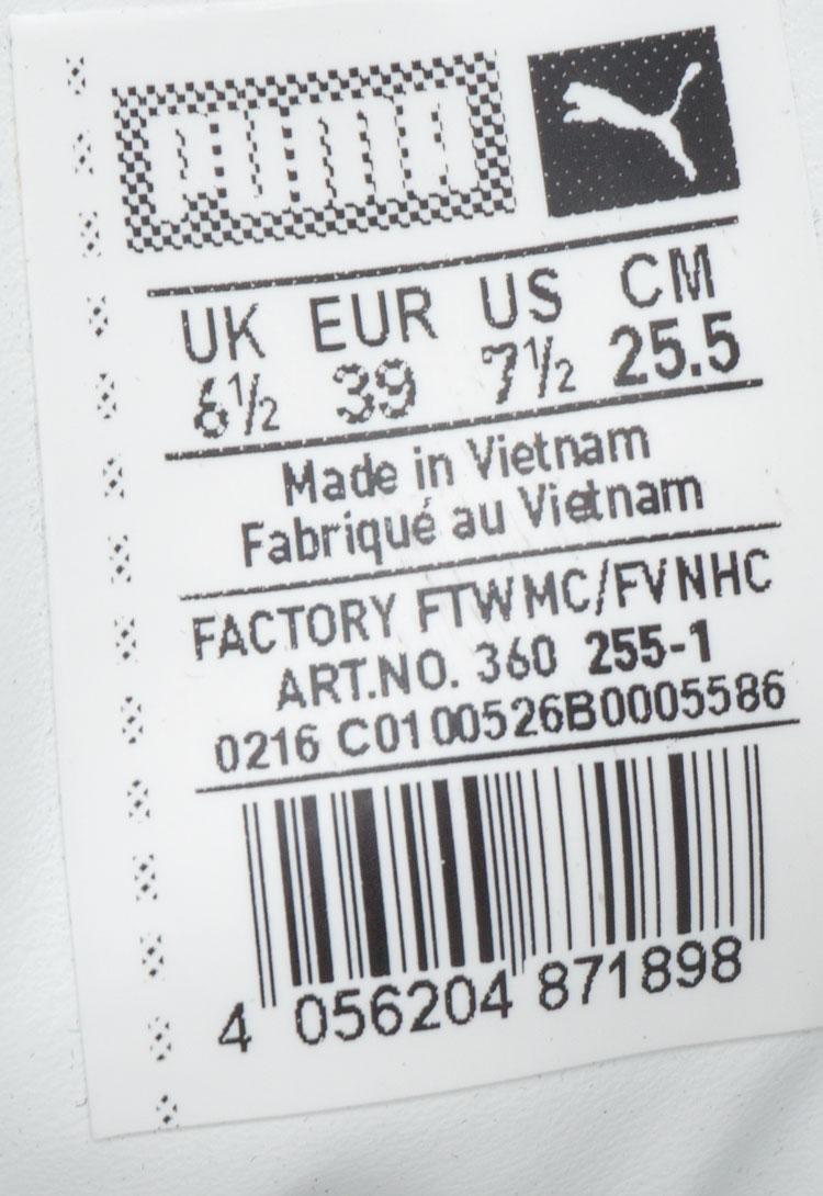 большое фото №6 Кроссовки Puma Suede classic черные Vietnam
