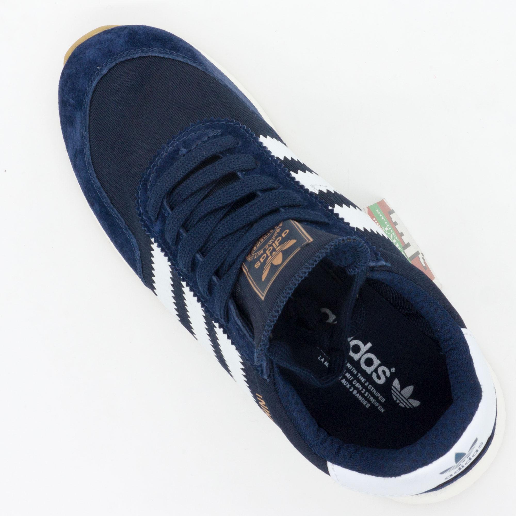 фото bottom Кроссовки для бега Adidas Iniki Runner синие №1 bottom