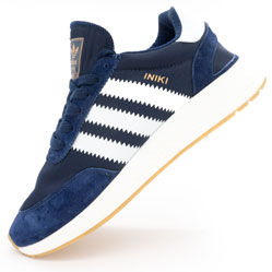 фото Кроссовки для бега Adidas Iniki Runner синие №1