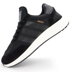 Кроссовки для бега Adidas Iniki Runner черные №1