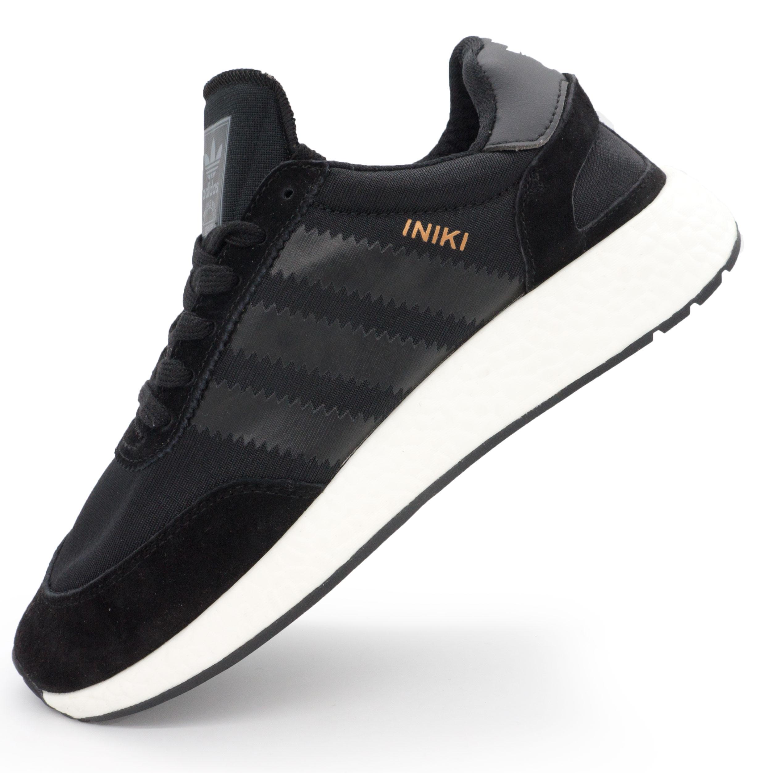 фото main Кроссовки для бега Adidas Iniki Runner черные №1 main