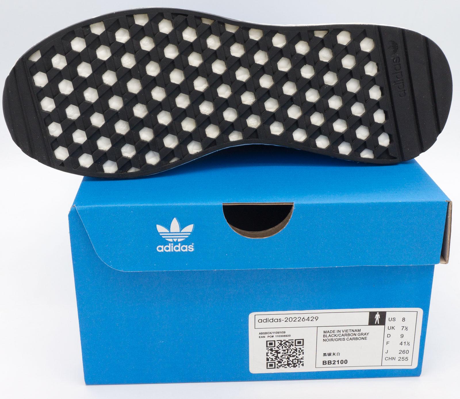 большое фото №5 Кроссовки для бега Adidas Iniki Runner черные №1