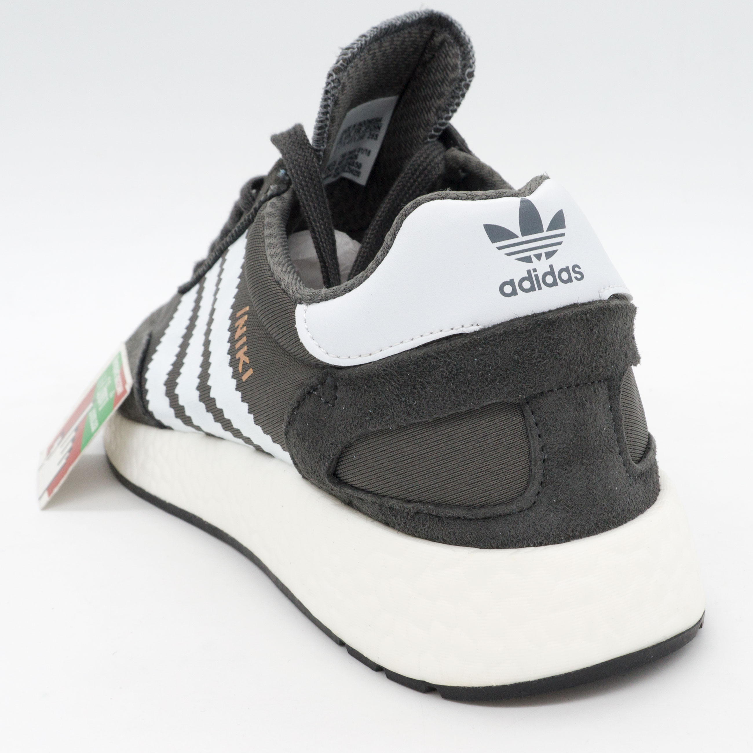 фото back Кроссовки для бега Adidas Iniki Runner серые back