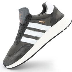 Кроссовки для бега Adidas Iniki Runner серые