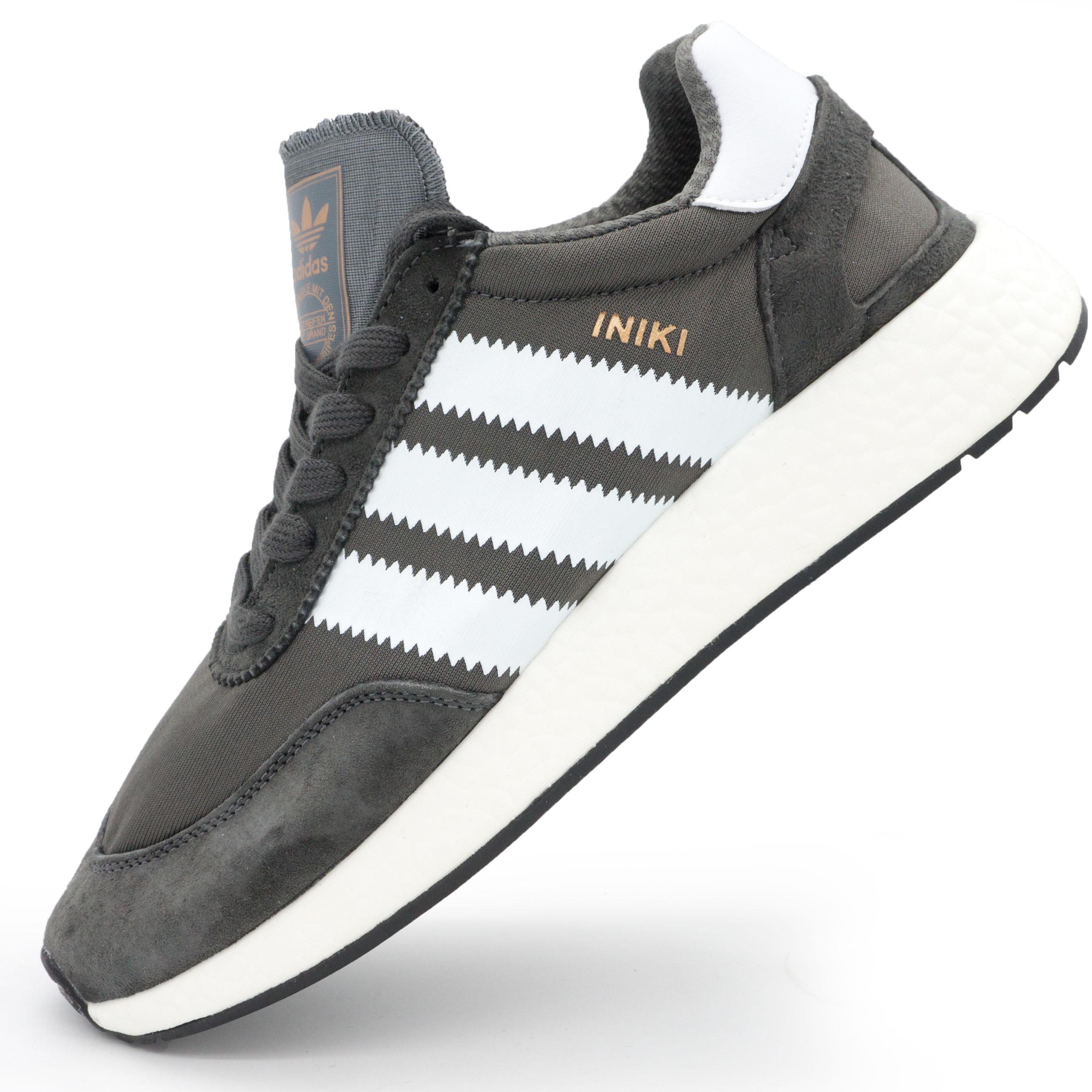 cf405f58 Кроссовки для бега Adidas Iniki Runner серые, купить зиние Adidas ...