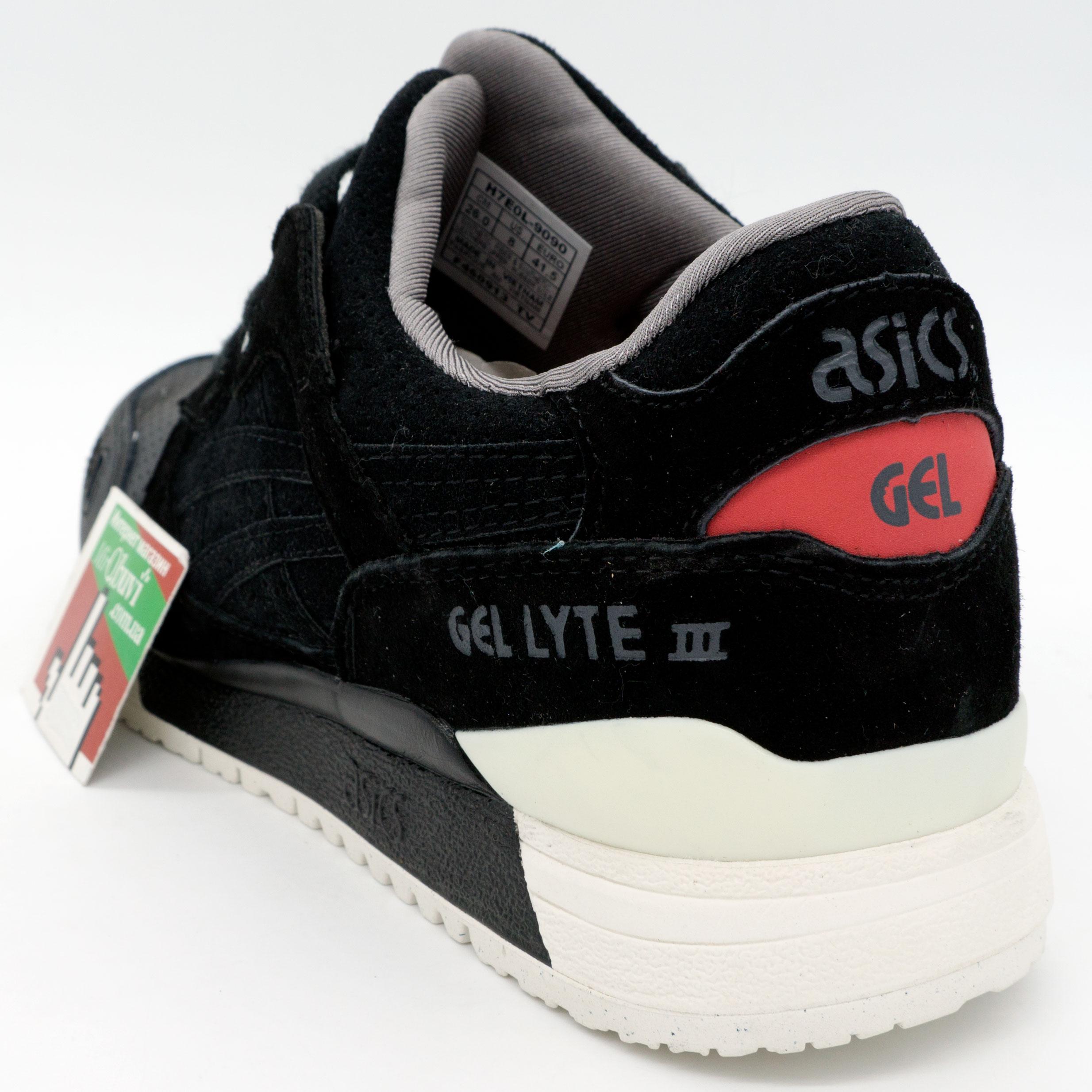 фото back Кроссовки Asics Gel Lyte 3 черные - Топ качество! back
