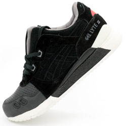 Кроссовки Asics Gel Lyte 3 черные - Топ качество!