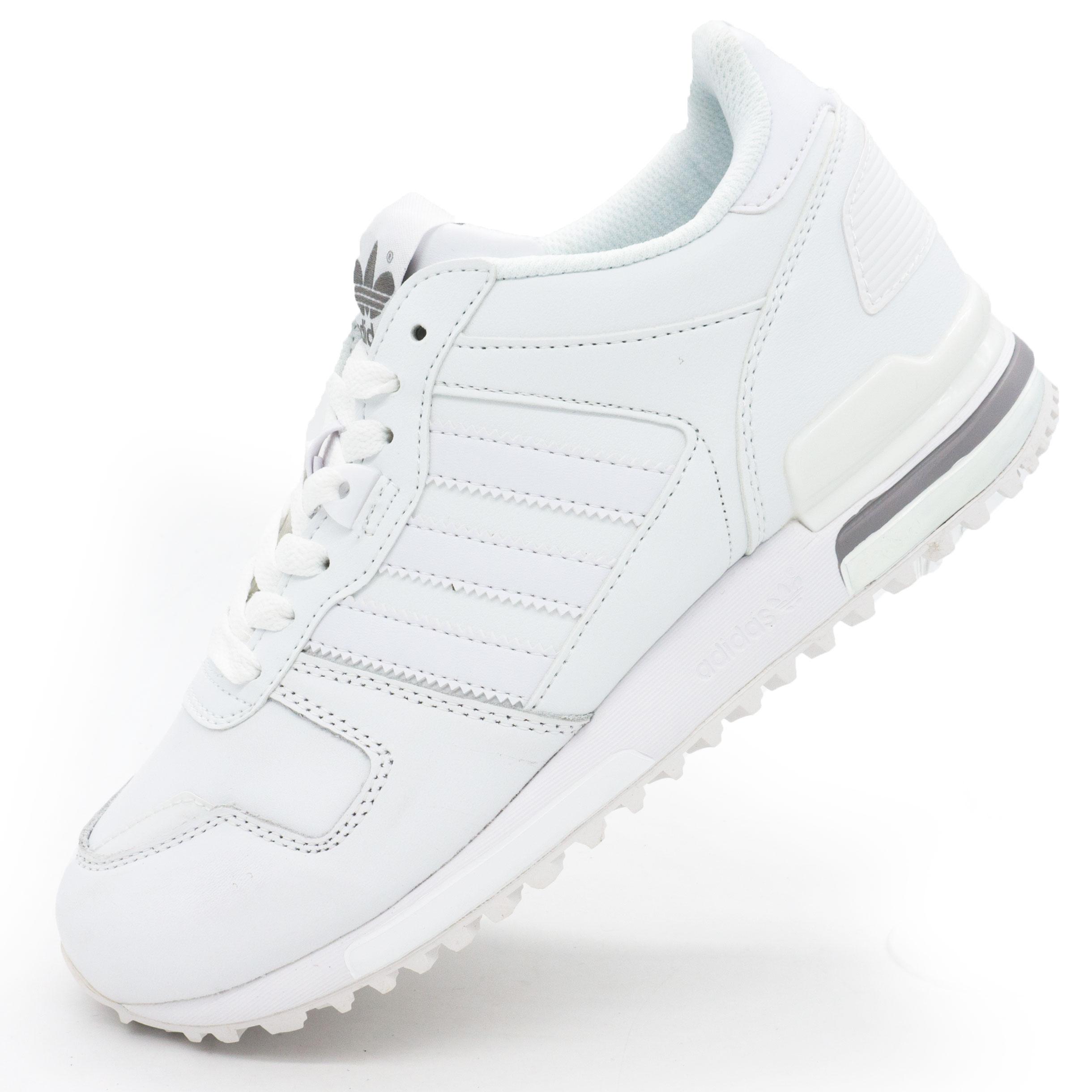 фото main Кожаные белые женские кроссовки Adidas zx700 - Топ качество! main