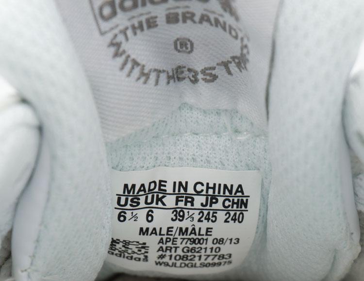 большое фото №6 Кожаные белые женские кроссовки Adidas zx700 - Топ качество!