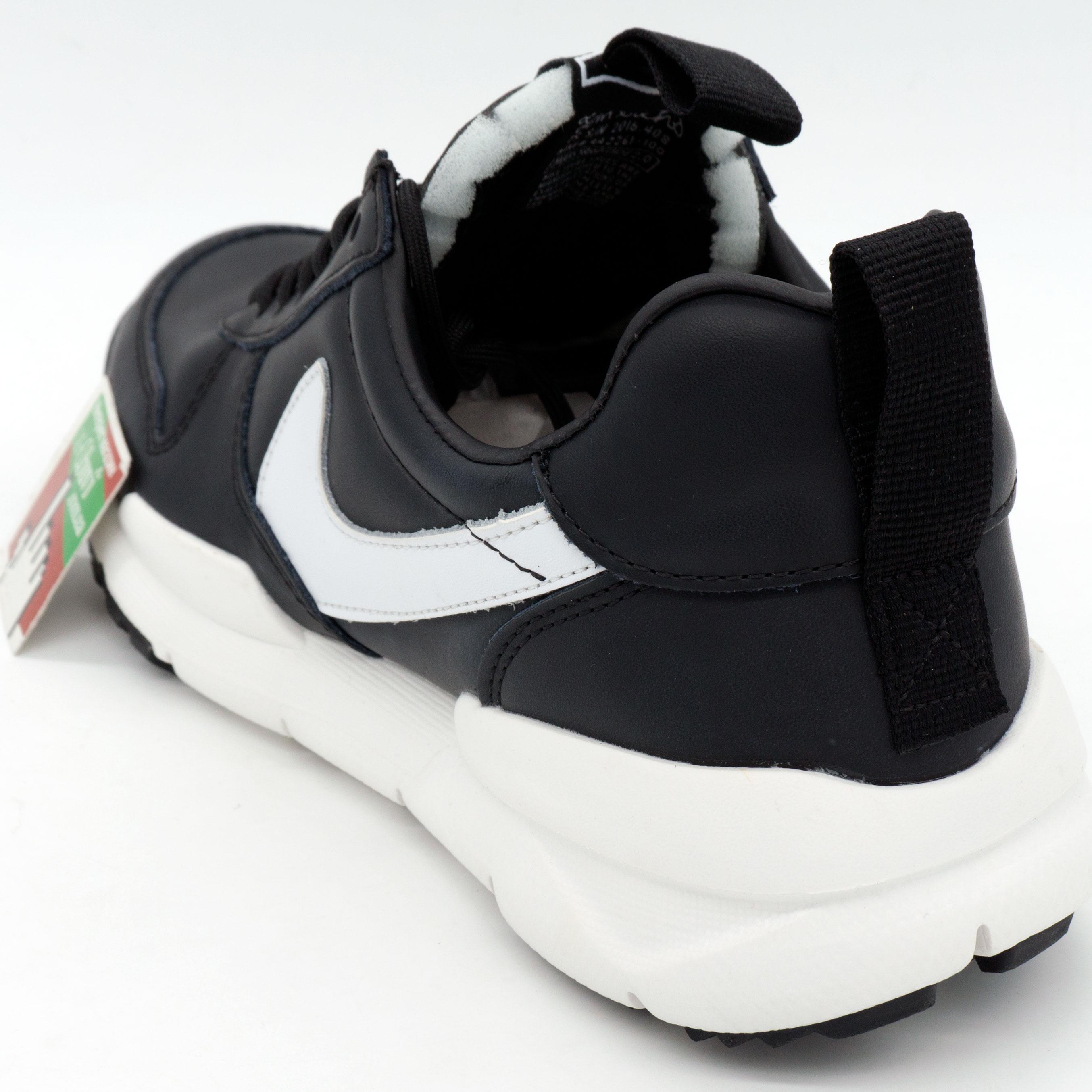 фото back Мужские  кожаные черные кроссовки Nike Mars Yard 2.0. Топ качество! back