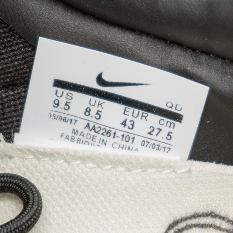 большое фото №6 Мужские  кожаные черные кроссовки Nike Mars Yard 2.0. Топ качество!