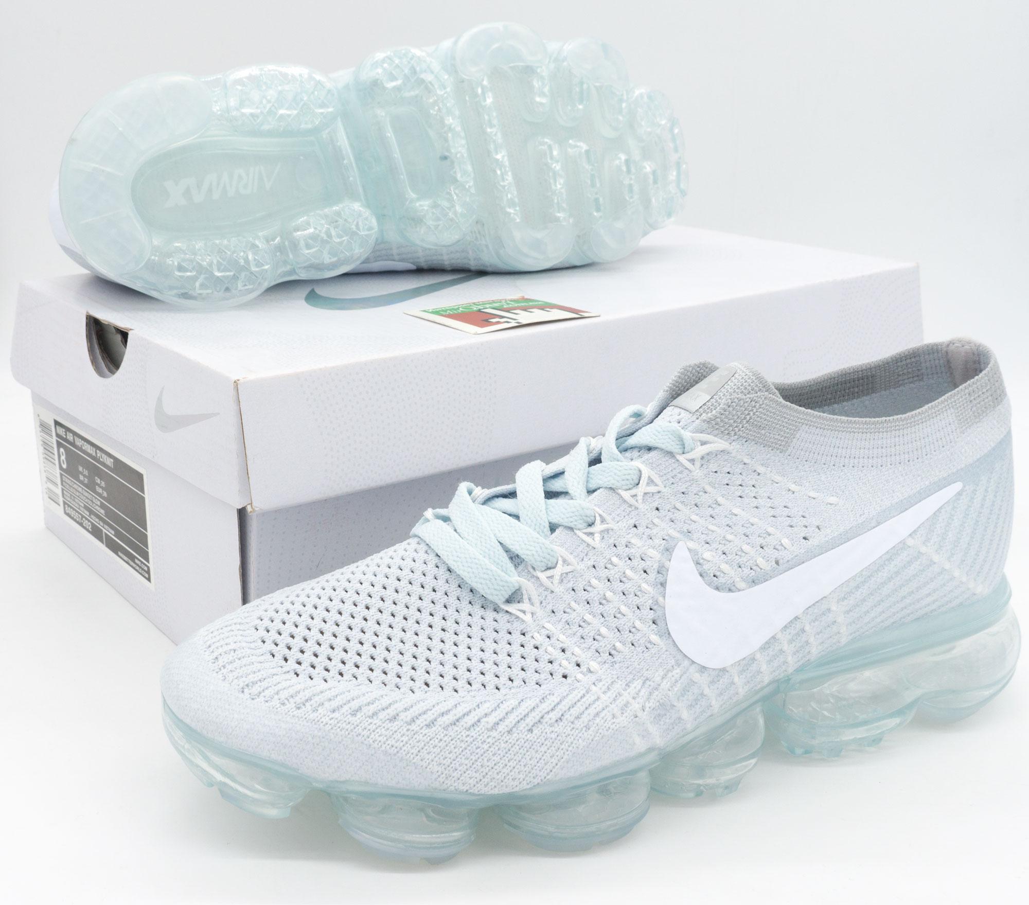 фото bottom Кроссовки для бега Nike Air VaporMax светло серые. Топ качество! bottom