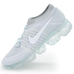 Кроссовки для бега Nike Air VaporMax светло серые. Топ качество!
