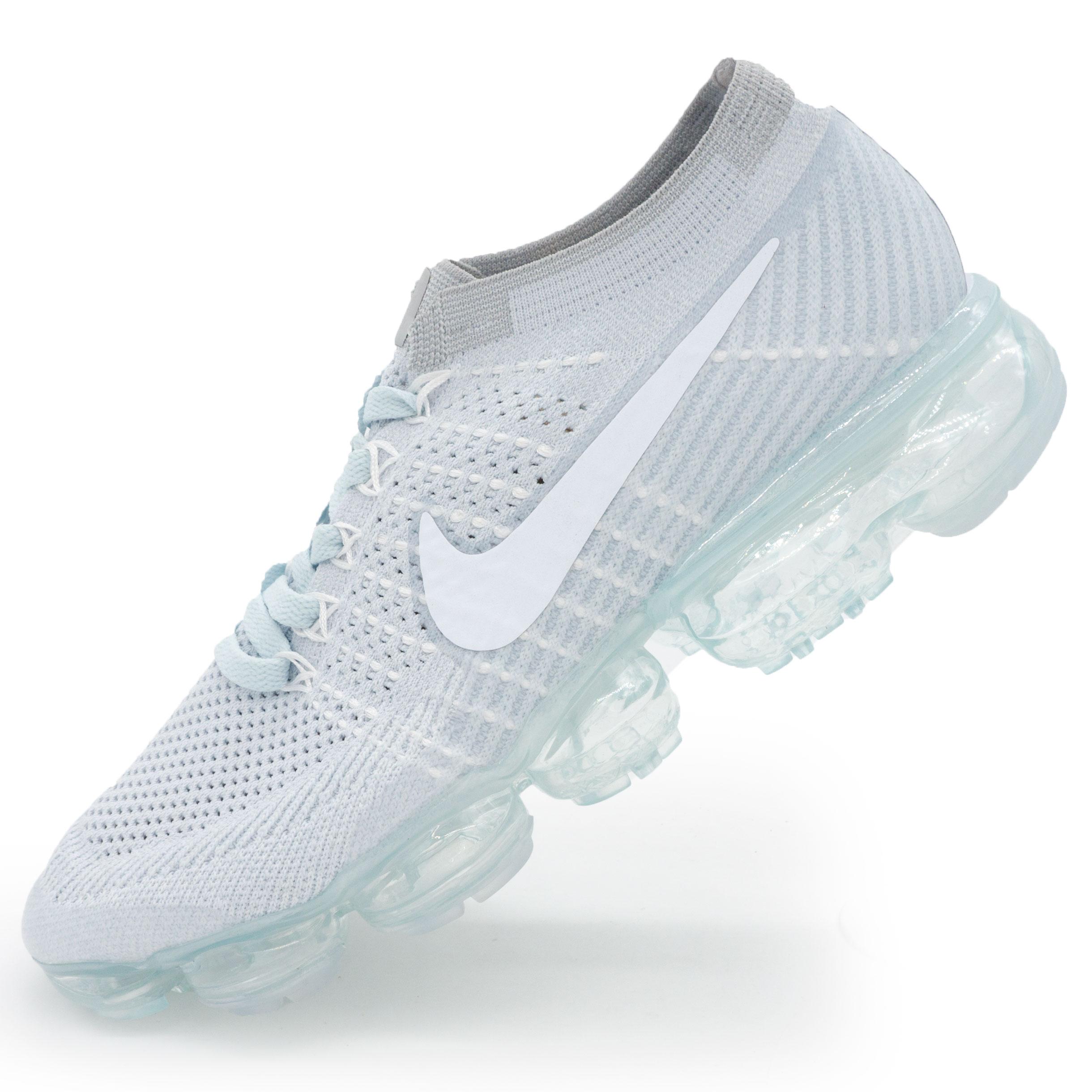 ff63b7ef Топ качество! фото main Кроссовки для бега Nike Air VaporMax светло серые.