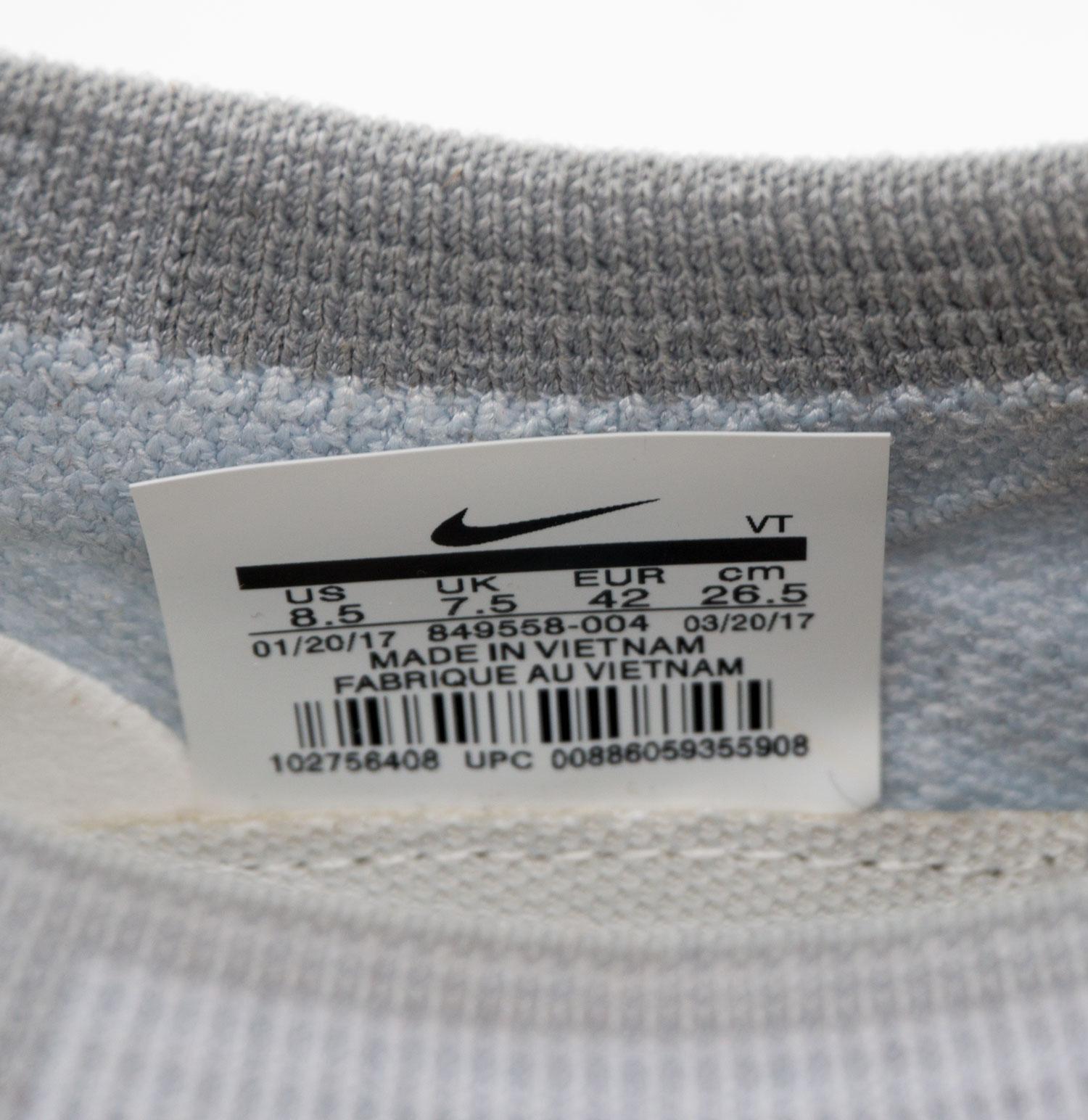 большое фото №6 Кроссовки для бега Nike Air VaporMax светло серые. Топ качество!
