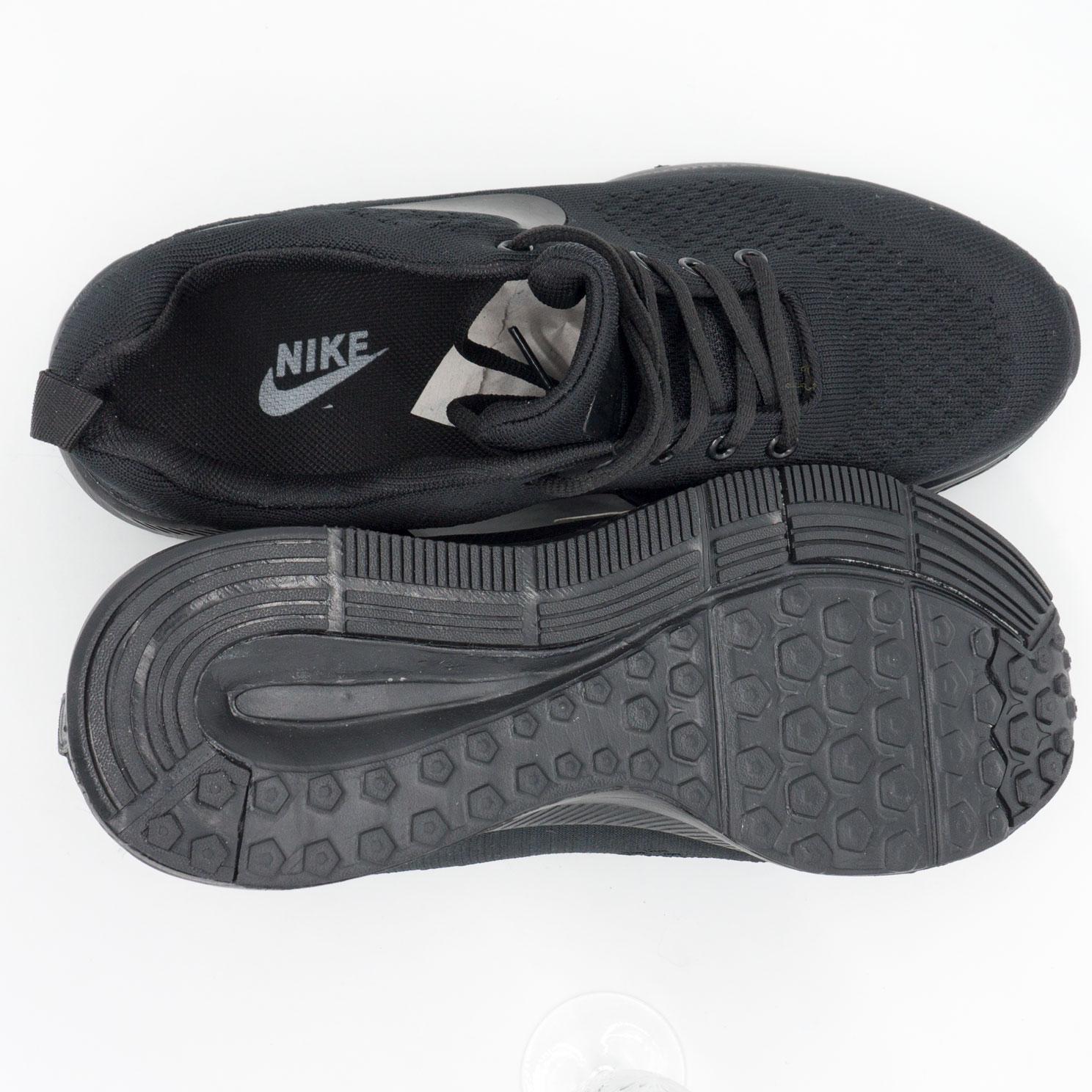 фото bottom Мужские кроссовки для бега Nike Zoom черные. bottom