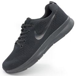 Мужские кроссовки для бега Nike Zoom черные.
