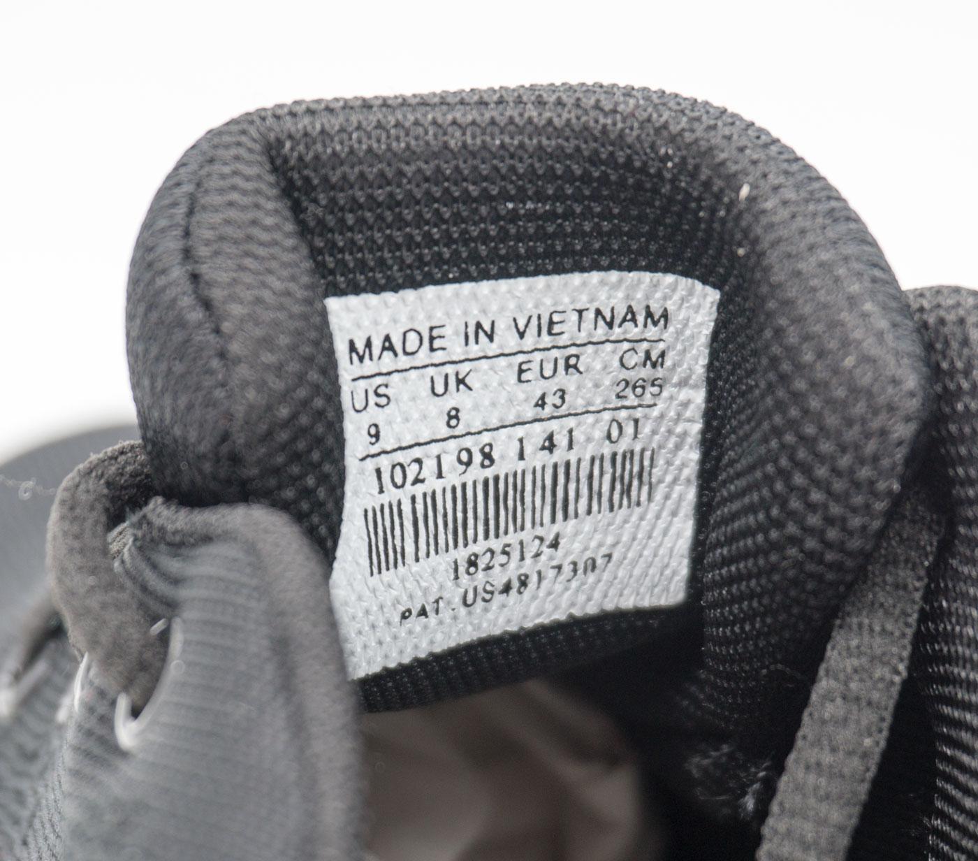 большое фото №6 Мужские кроссовки для бега Nike Zoom черные.