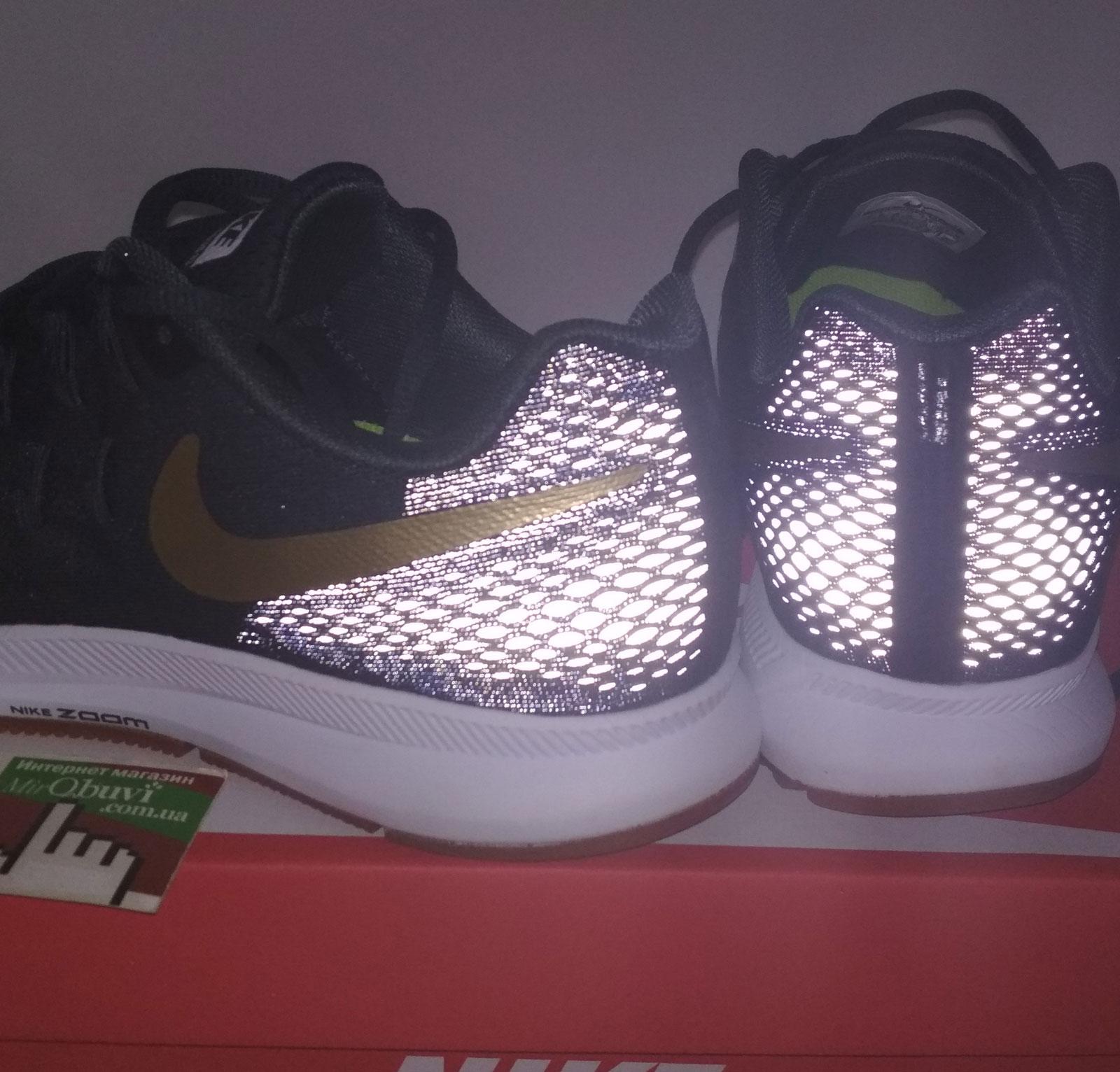 большое фото №6 Мужские кроссовки для бега Nike Zoom Pegasus 33 пепельный с коричневым. Топ качество!