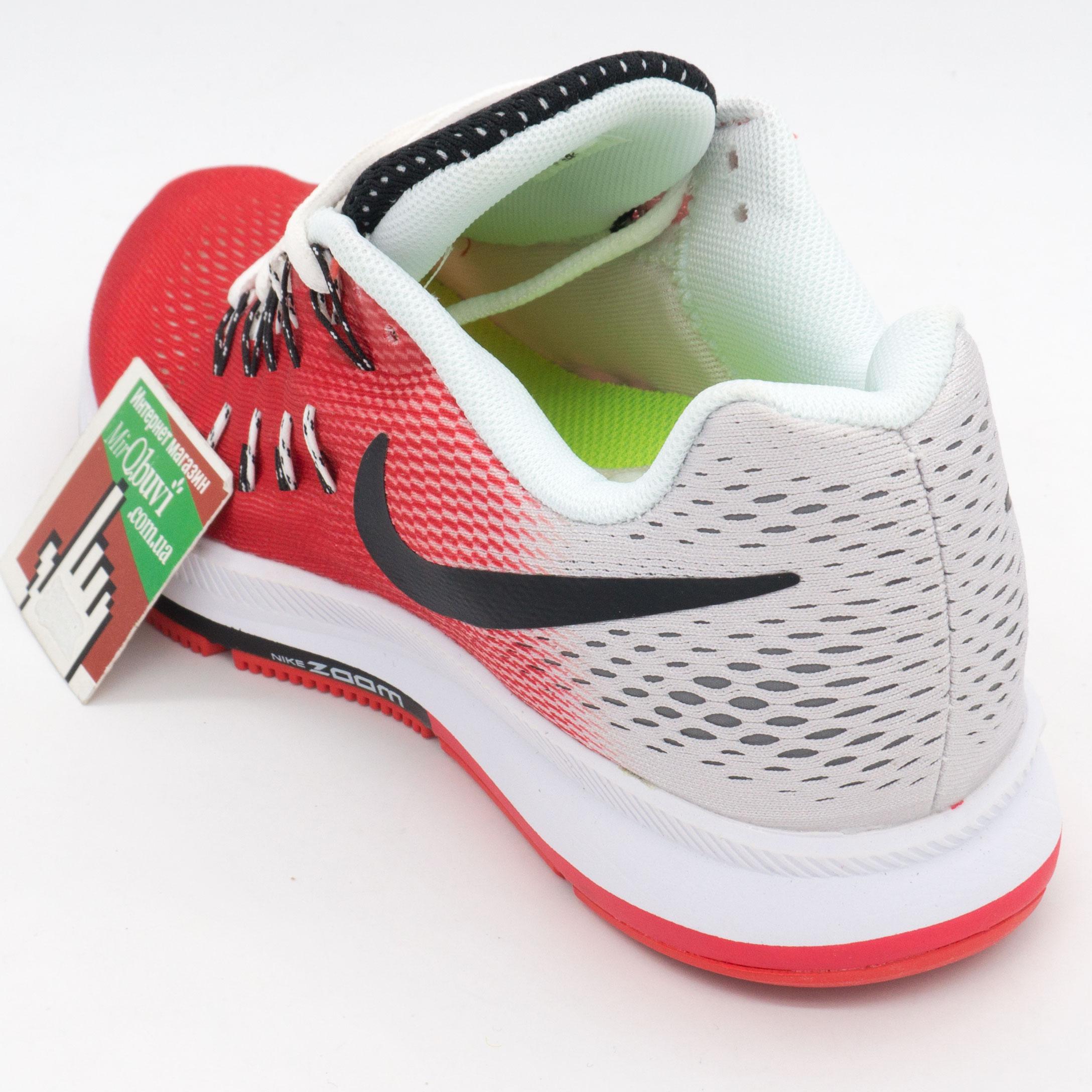 фото back Женские кроссовки для бега Nike Zoom Pegasus 33 красные. Топ качество! back