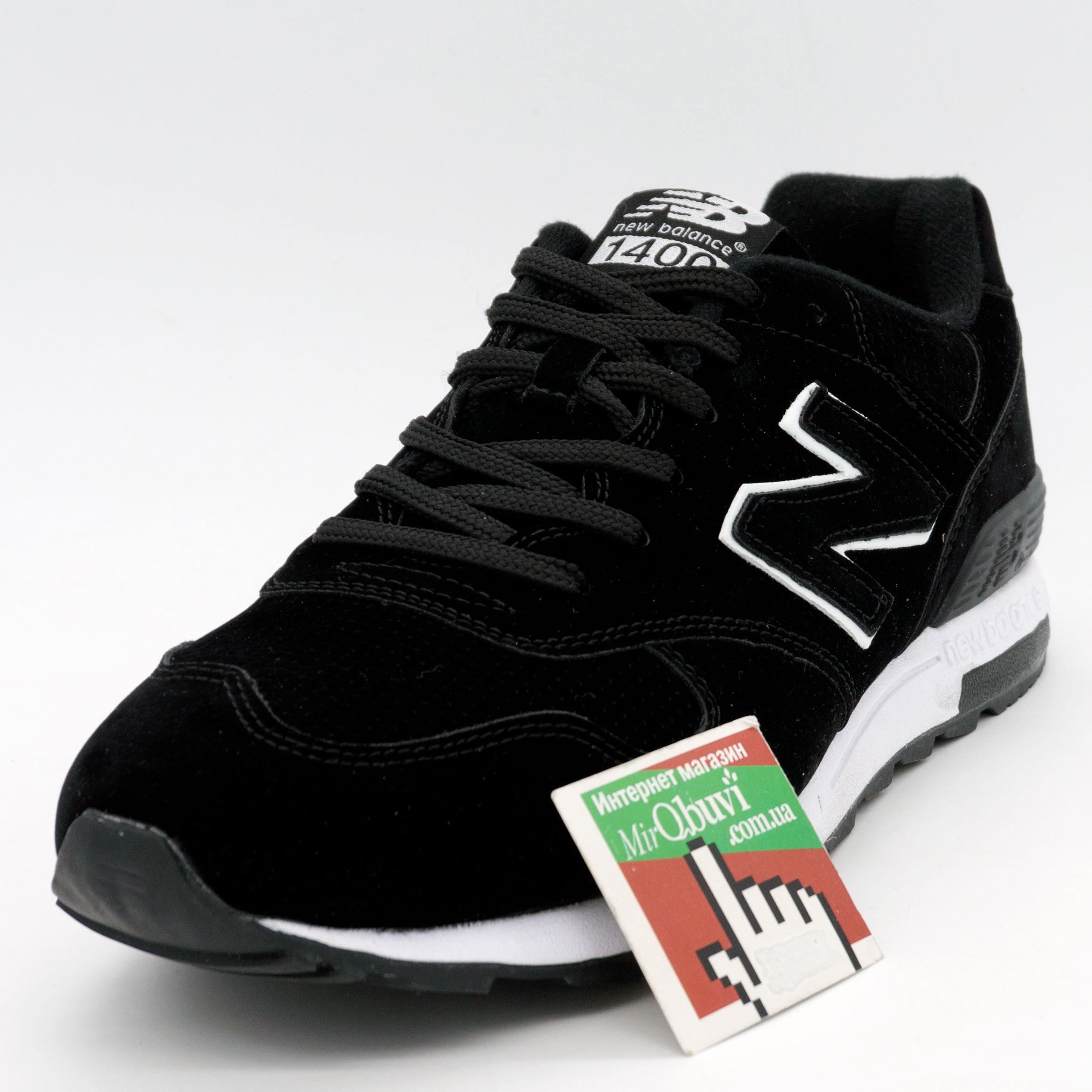 фото front Мужские кроссовки New Balance 1400 черные front