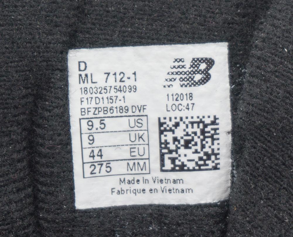большое фото №5 Мужские кроссовки New Balance 1400 черные