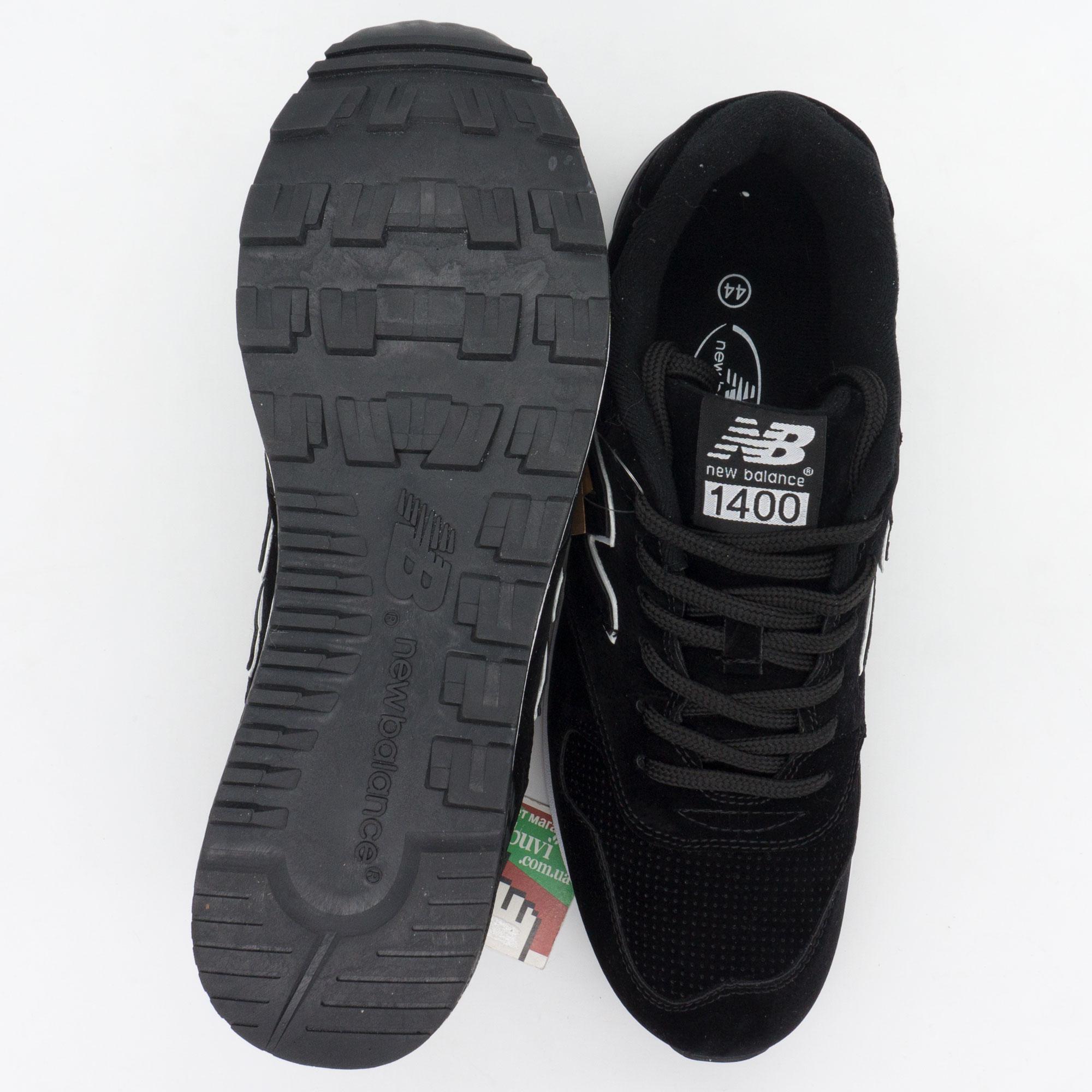 большое фото №6 Мужские кроссовки New Balance 1400 черные