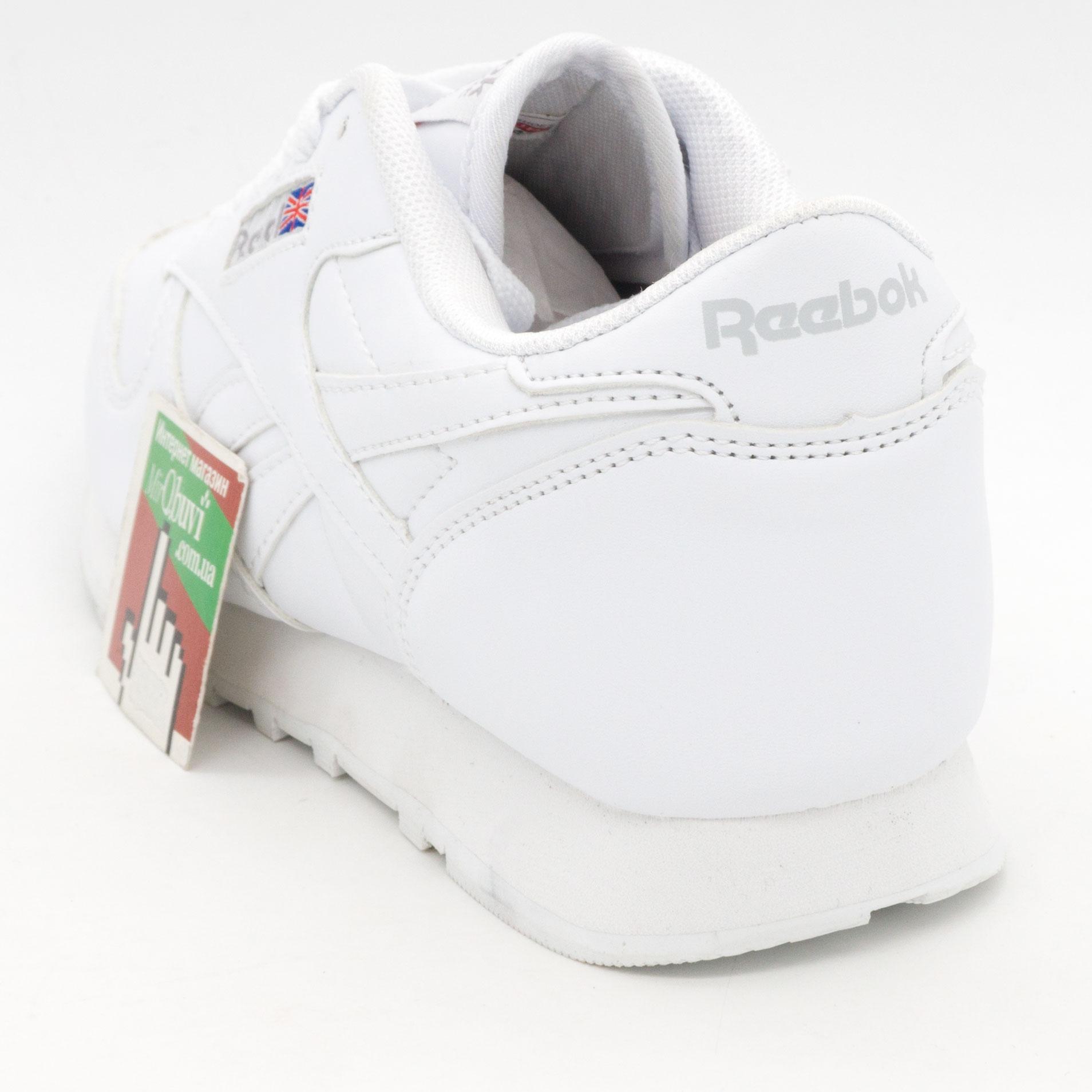 фото back Белые женские кроссовки Reebok classic back
