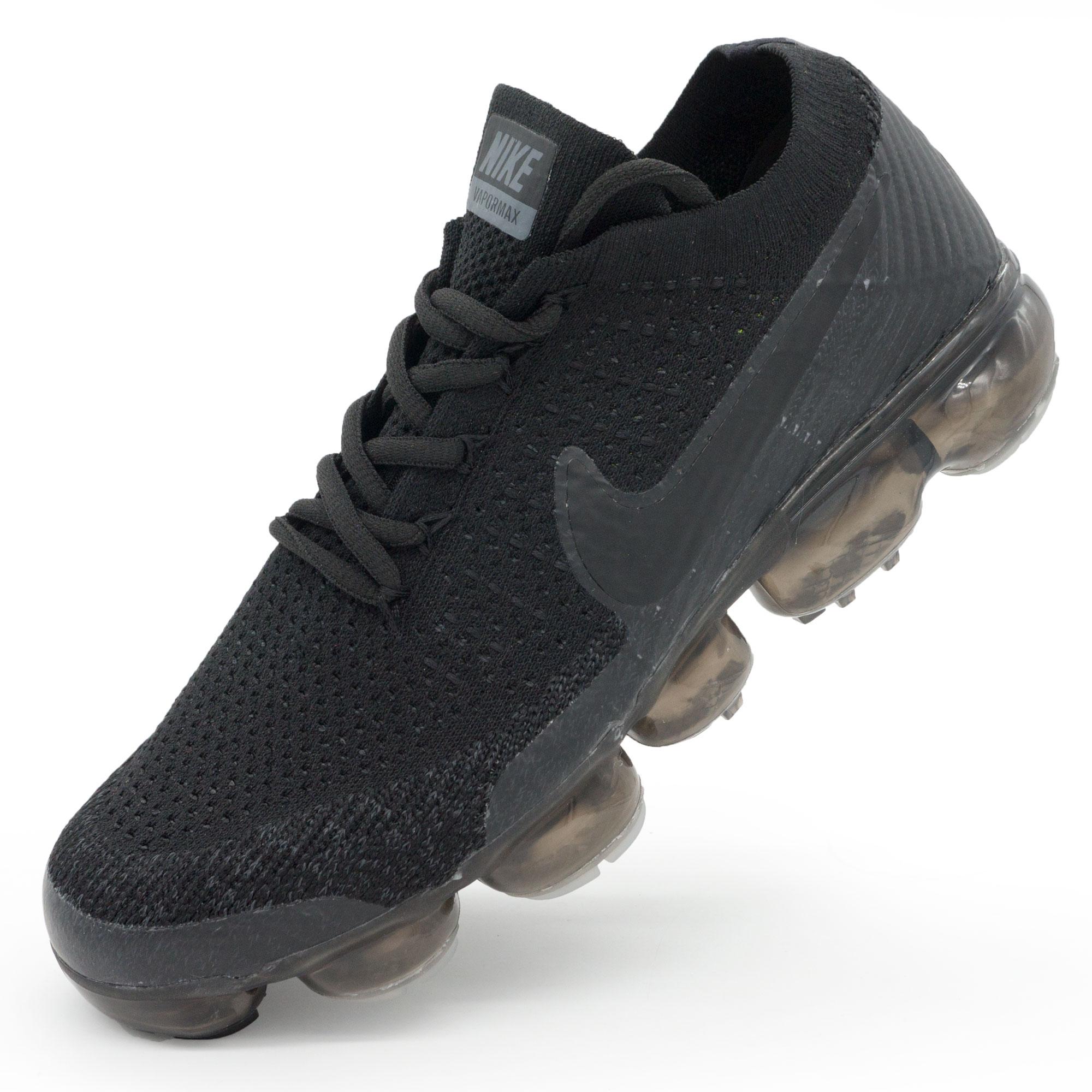 фото main Мужские кроссовки для бега Nike Air VaporMax полностью черные main
