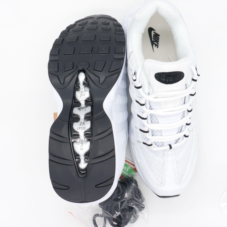фото bottom Кроссовки Nike air max 95 полностью белые bottom