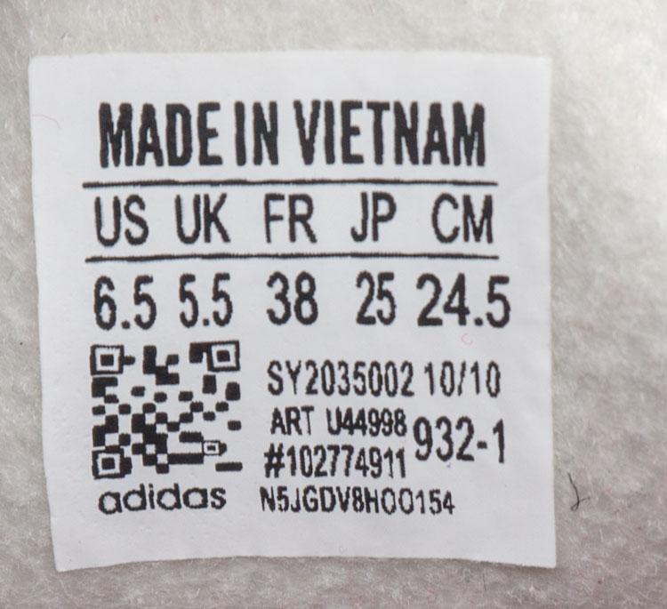 большое фото №6 Бордовые женские кроссовки Adidas Hamburg - Vietnam