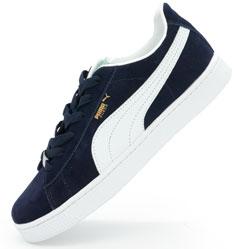 Кроссовки Puma Suede classic темно синие Vietnam