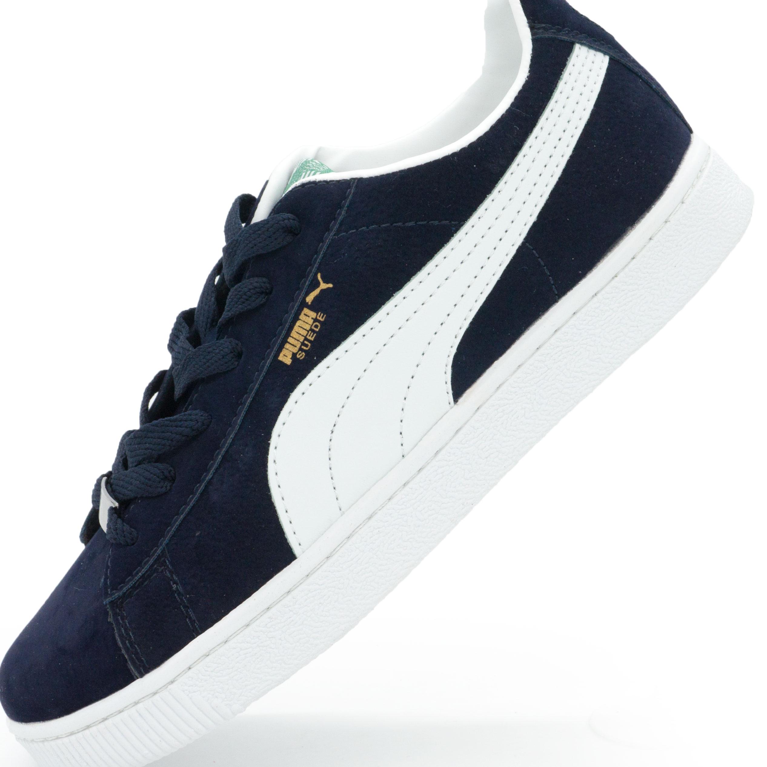 ... фото main Кроссовки Puma Suede classic темно синие Vietnam main ... 204c12ec595