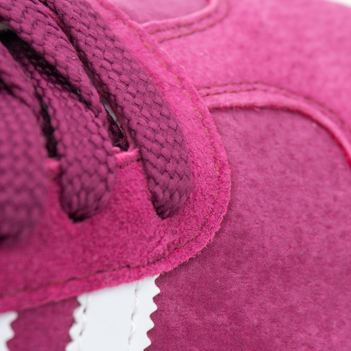фото bottom Бордовые кроссовки Adidas Gazelle натуральная замша,  Vietnam - Топ качество! bottom