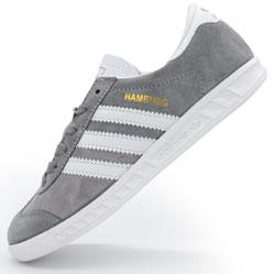 Серые кроссовки Adidas Hamburg Indonesia