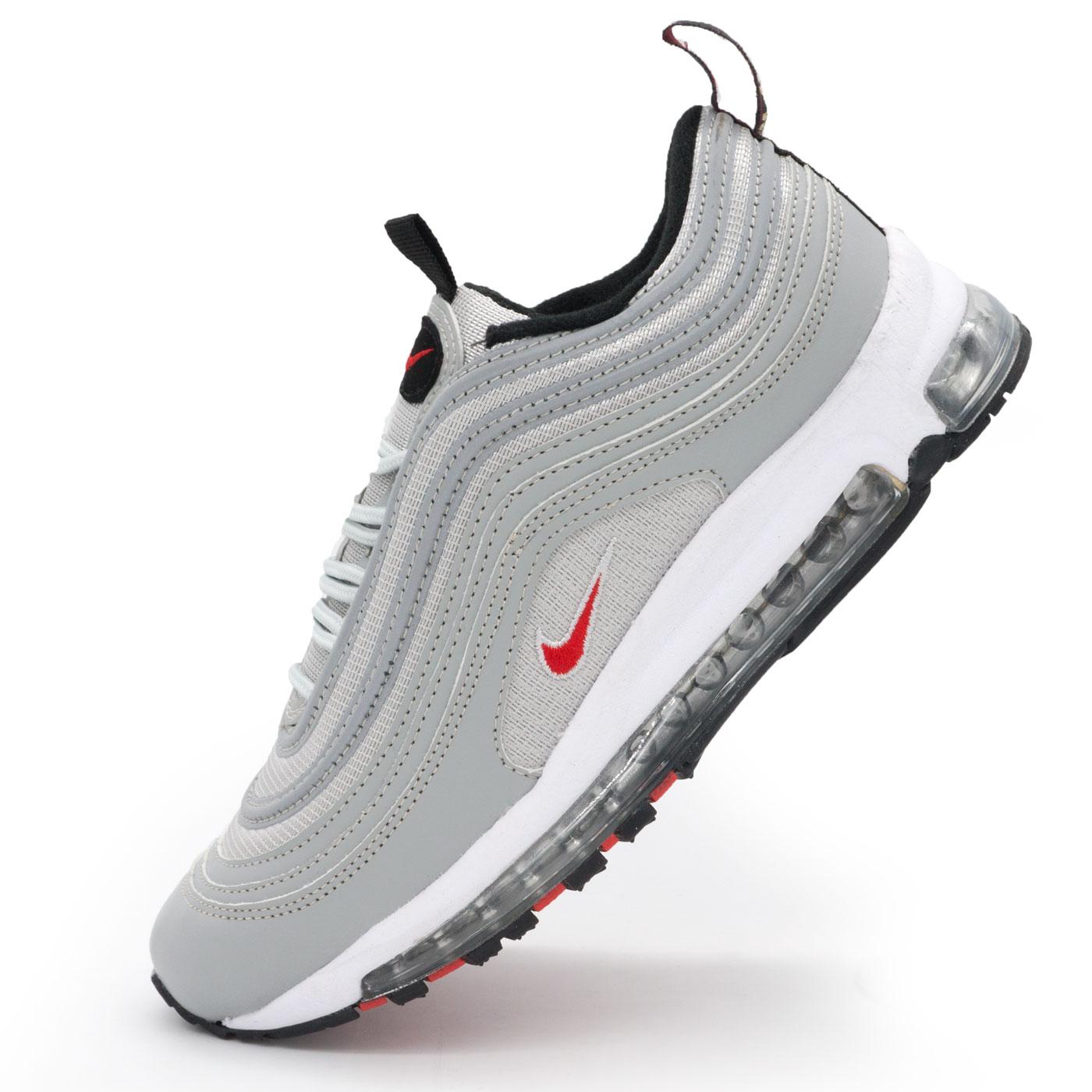 280045b0 ... фото main Мужские и женские кроссовки Nike air max 97 серебристые  Vietnam main ...