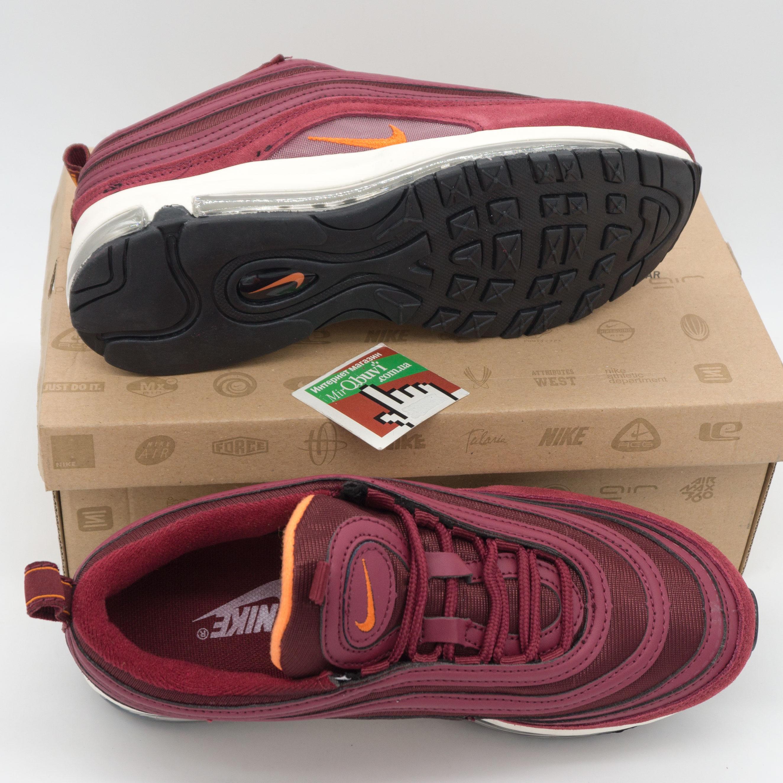 фото bottom Женские бордовые кроссовки Nike air max 97 Vietnam bottom