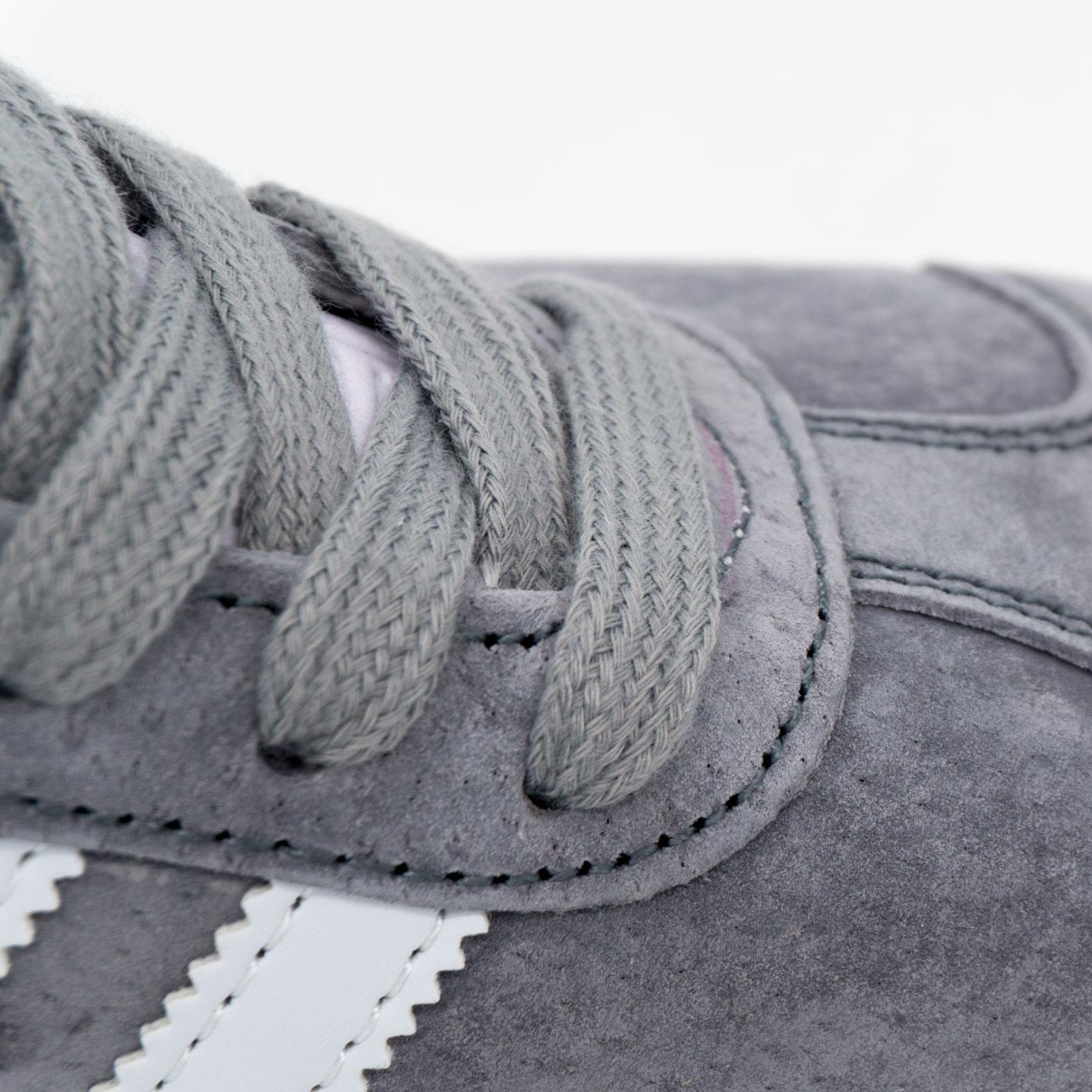 фото bottom Серые кроссовки Adidas Gazelle натуральная замша, Vietnam - Топ качество! bottom