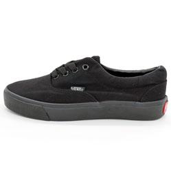 Кеды Vans Classic lace полностью черные.