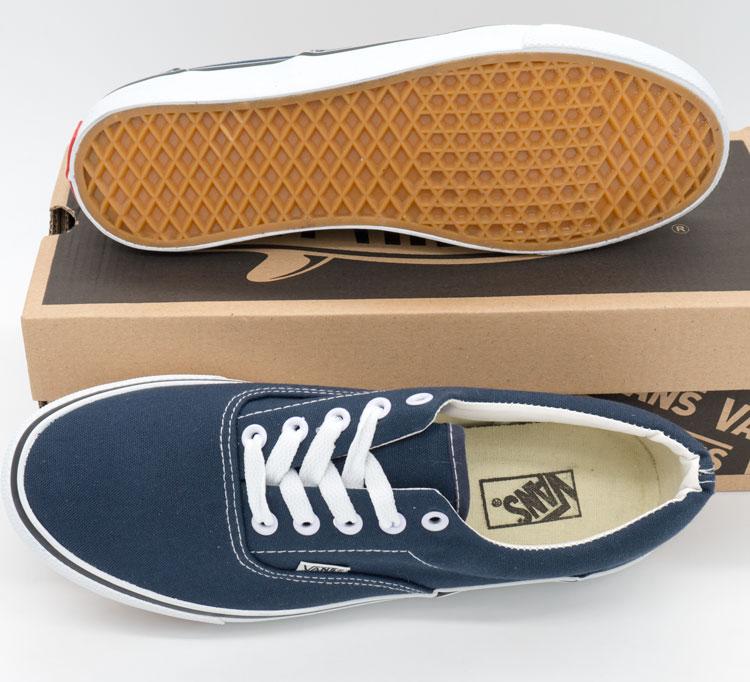фото back Кеды Vans Classic lace синие. back