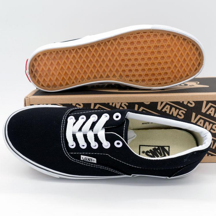 фото back Кеды Vans Classic lace черно-белые. back