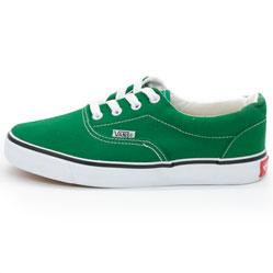 Кеды Vans Classic lace зеленые.