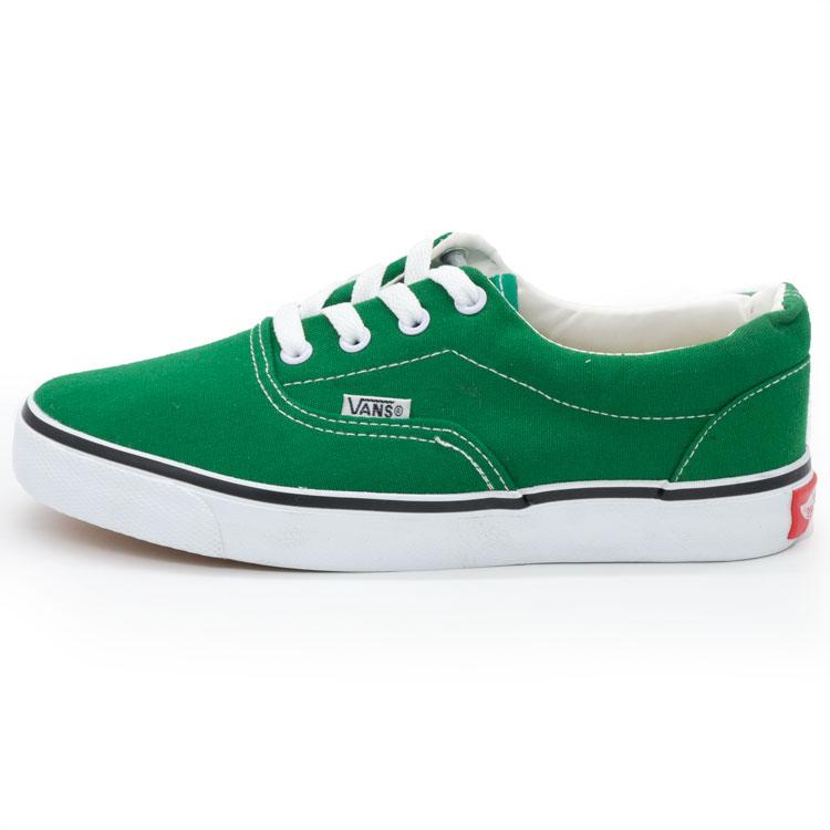 фото main Кеды Vans Classic lace зеленые. main
